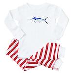 Blue Marlin v2 Baby Pajamas
