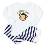 i fling poo Baby Pajamas