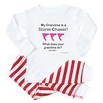 Baby TwisterChasers Grandma pink tornado Infant Bo