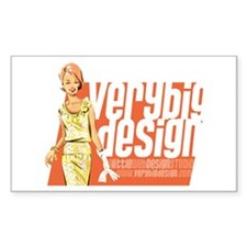 VBD Logo Rectangle Sticker