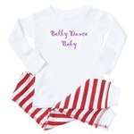 Belly Dance Baby Baby Pajamas