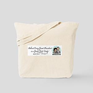 Barack Michelle Obama Tote Bag