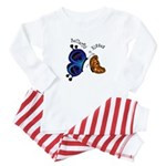 Butterfly Kisses - Baby Pajamas
