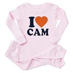 Cam Love Baby Pajamas