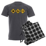 Creepers Men's Charcoal Pajamas
