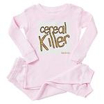 cereal killer Baby Pajamas
