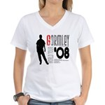 Mark Gormley Women's V-Neck T-Shirt