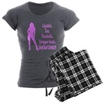 Showtime V2 Women's Charcoal Pajamas
