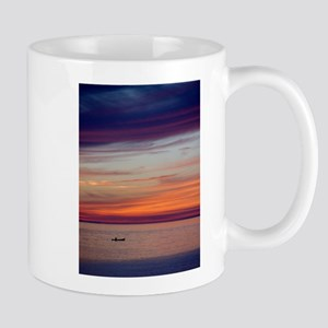 Canoe Sunset Mugs