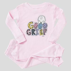 Charlie Brown Good Grief Baby Pajamas