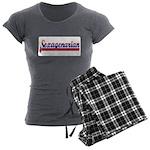 Sexagenarian Women's Charcoal Pajamas