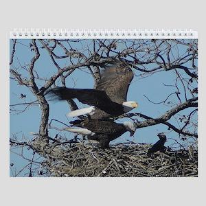 Llano county bald eagle Wall Calendar