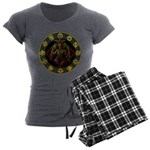 Baphomet2 Women's Charcoal Pajamas