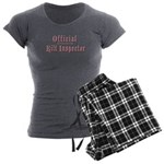 Official Kilt Inspector Women's Charcoal Pajamas