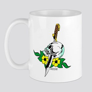 Old Skool Skull & Dagger Mug
