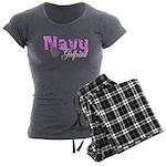 Navy Girlfriend Women's Charcoal Pajamas