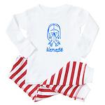 Namasté Girl Baby Pajamas