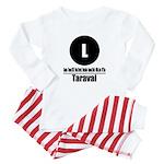 L Taraval (Classic) Baby Pajamas