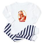 Peace Dalai Lama Baby Pajamas