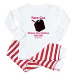Race Gas Makes Her Clothes - Baby Pajamas
