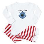 Teach Peace Baby Pajamas