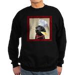 Black Labrador Chef Sweatshirt (dark)