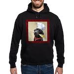 Black Labrador Chef Hoodie (dark)