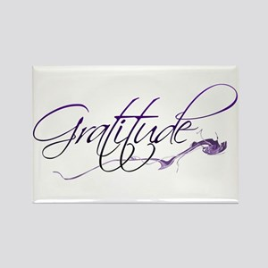 Gratitude Rectangle Magnet
