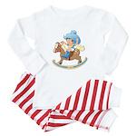 Baby on Rocking Horse Baby Pajamas