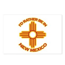 I'd Rather Be In New Mexico Postcards (Package of
