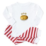 one potato (multiples set) Baby Pajamas