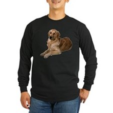 Golden Retriever Long Sleeve Dark T-Shirt