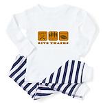 Give Thanks Baby Pajamas