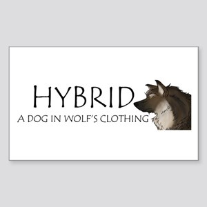 Hybrid Rectangle Sticker