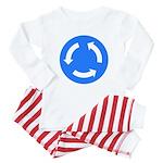 Traffic Circle Sign - Baby Pajamas