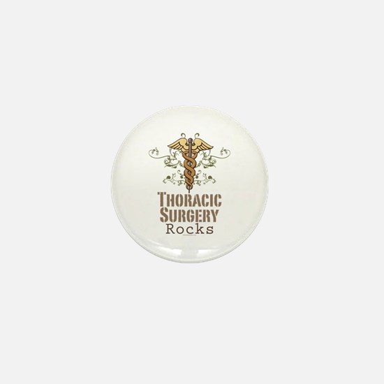 Thoracic Surgery Rocks Mini Button