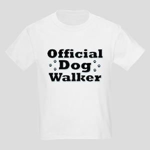 Official Dog Walker Kids Light T-Shirt