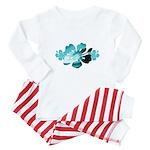 hibiscus-bag Baby Pajamas