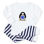 Peace penguin Baby Pajamas