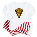 Bridgeport Police Baby Pajamas