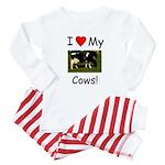Love My Cows Baby Pajamas