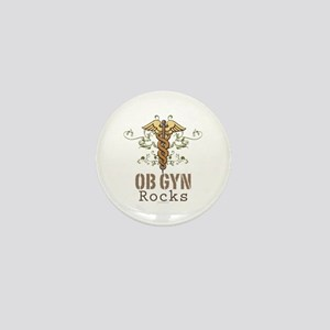 OB GYN Rocks Mini Button