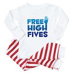Free High Fives Baby Pajamas