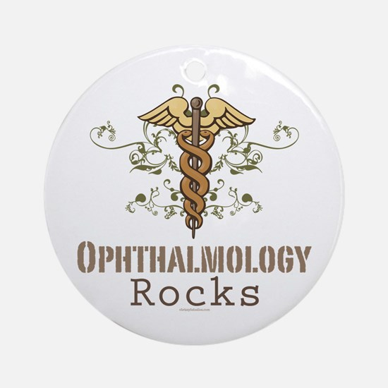 Ophthalmology Rocks Ornament (Round)