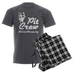 Pit Crew Men's Charcoal Pajamas