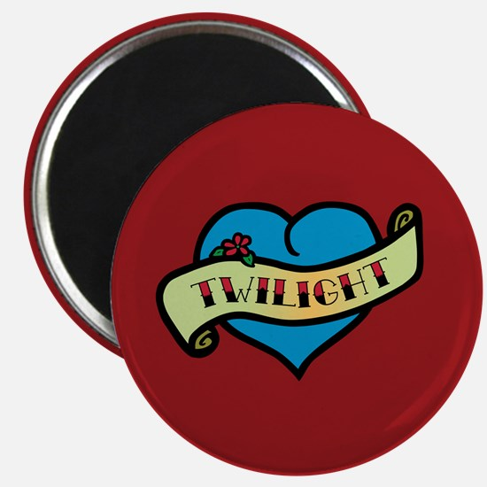 Twilight Heart Tattoo Magnet