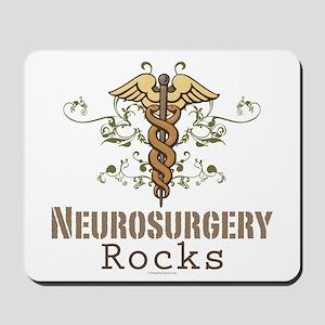 Neurosurgery Rocks Mousepad
