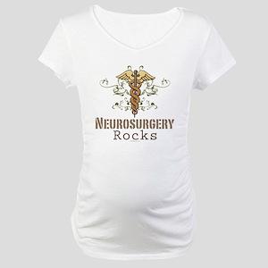 Neurosurgery Rocks Maternity T-Shirt