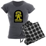 509th Infantry Women's Charcoal Pajamas
