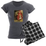 Little Red Riding Hood Women's Charcoal Pajamas